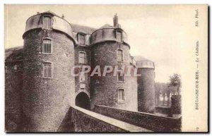 Boulogne sur Mer Old Postcard The castle