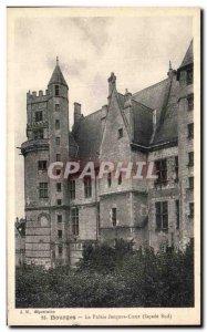 Old Postcard Bourges Palais Jacques Coeur