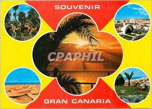 Modern Postcard Souvenir Gran Canaria