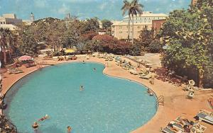 Bermuda, Somers Isles Crysta Pool at Bermudiana Hotel  Crysta Pool at Bermudi...