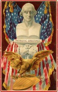 Patriotic Greetings - Artist: R. Veenfliet