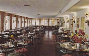 Interior, Main Dining Hall, Honey Bear Farm, Genoa City, Wisconsin, 40-60s