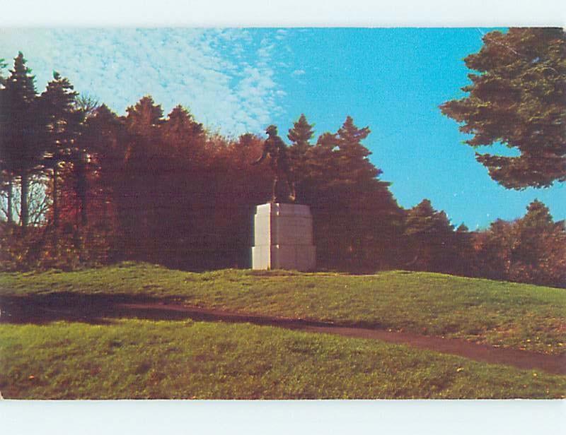 Pre-1980 MONUMENT SCENE St. John'S Newfoundland NL F2589