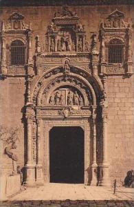 Spain Toledo Puerta del Hospital de Santa Cruz