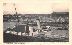 Oban, from above South Pier Scotland, UK Unused