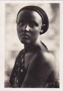 Snapshot, Native Girl Wearing A One Shoulder Costume, Libya, Africa, 1930-1940s