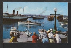 Causeway Inner Harbor,Victoria,BC,Canada Postcard