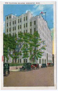 Worcester, Mass, New Telephone Building