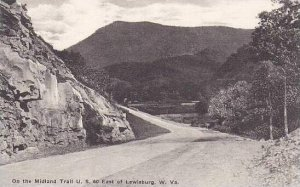 West Virginia Lewisburg On The Midland Trail U.S.60 Albertype
