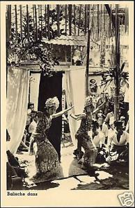 indonesia, BALI, Native Legong Dancer Girls 1950s RPPC