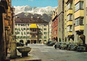 Austria Innsbruck Herzog-Friedrich Street With The Golden Roof