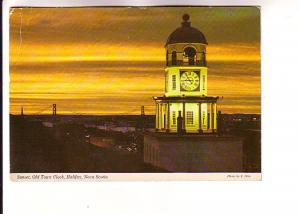 Sunset, Old Town Clock, Halifax, Nova Scotia, Wilson Dryden