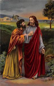 Oberammergauer Passionsspiele, No. 5 Christus und Judas Iscariot