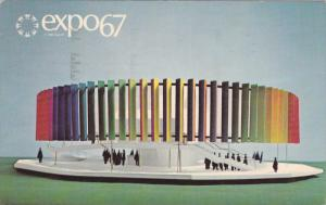 Expo67, The Kaleidoscope Pavilion, Man and Color, Montreal, Quebec, Canada,...