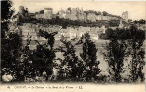 CPA CHINON - Le Chateau et les Bords de la Vienne (298916)
