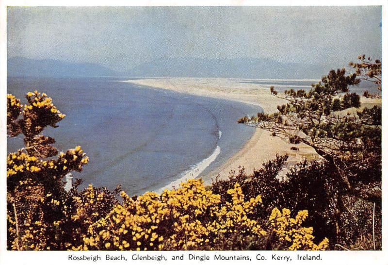 Rossbeigh Beach, Glenbeigh and Dingle Mountains Co. Kerry