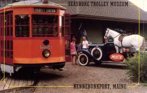 ME - Kennebunkport. Trolley