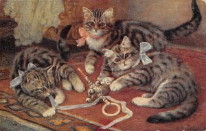 Cat Post Card, Cats Postcards When Cats are Kittens Unused