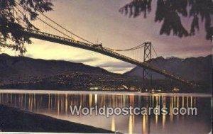 Lions Gate Bridge Vancouver British Columbia, Canada 1969