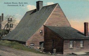 PORTSMOUTH, New Hampshire, 1900-10s; Jackson House, Built 1644