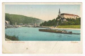 Tetschen (now Dě č ín), Austria (Now Czech Republic),  Schloss  und ...
