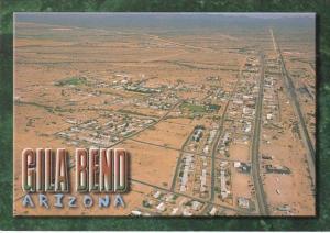 Arizona Gila Bend Aerial View