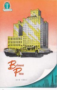 New York City Belmont Plaza Hotel