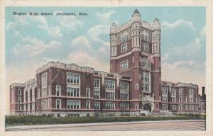 CINCINNATI , Ohio , 1910s ; Hughes High School