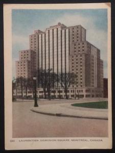 Laurentien, Dominion Square, Montreal, Canada 26  1951