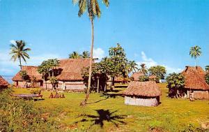 Fiji Fijian Village  Fijian Village