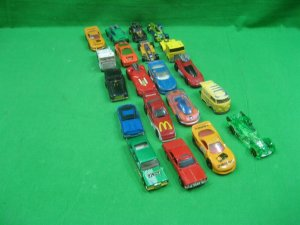 Vintage Lot of Twenty (20) Toy Cars Various Styles & Colors Hotwheels McDonalds