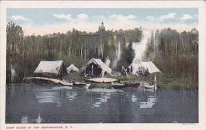 Camp In The Adirondacks New York