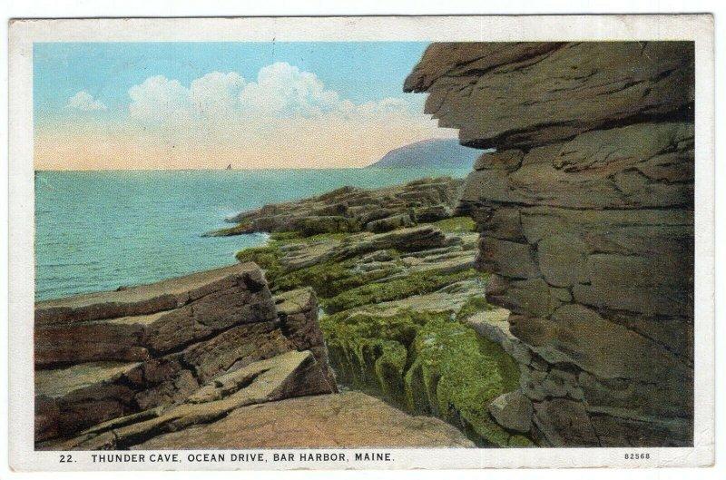 Bar Harbor, Maine, Thunder Cave, Ocean Drive