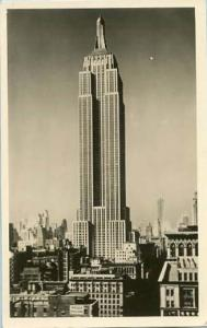 NY - New York City. Empire State Building    *RPPC