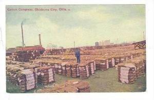 Cotton Compress, Oklahoma City, Oklahoma, 1900-10s