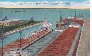 Ohio Toledo One Of The Coal and Iron Ore Laoading Docks