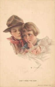 Don´t Wake The Baby Philip Boileau Artist Signed 04.54