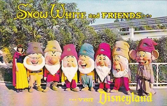 Snow White And Friends Visit Disneyland