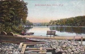 New York Syracuse The Battle Island Dam 1909