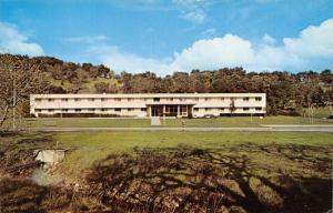 Yountville California~Veteran's Home~Ladies' Residence Hall~1950s Postcard
