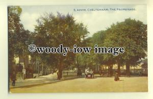 tp0388 - Glouc'shire - Early View down the Promenade, in Cheltenham - Postcard