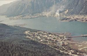 The Capital City Of Alaska With Douglas, & The Gastineau Channel Separating T...