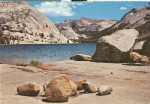 Tenaya Lake, Yosemite National Park, 1975 used Postcard