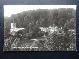 Gloucestershire Chedworth RENDCOMB CHURCH & RECTORY St Andrew's Old RP Postcard