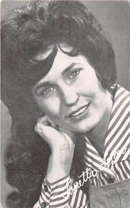 Loretta Lynn Non Postcard Backing Unused