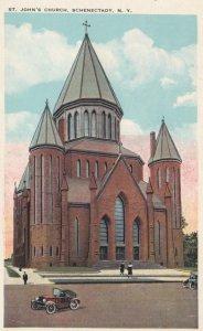 SCHENECTADY, New York, 1900-10s; St. John's Church