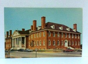 Dover Delaware John G Townsend Memorial Building Postcard
