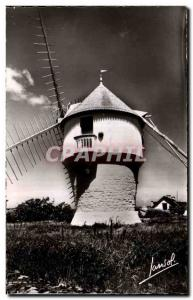 Postcard Modern Mill Mass Wind mill Cote d & # 39amour