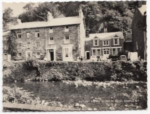 Caernarvonshire; Prince Llewellyn Hotel, Beddgelert RP PPC By Frith, Unposted