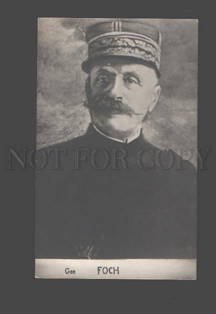 085440 FRENCH General Fosh Vintage PC